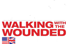 Walk of Americas Logo for Walking With The Wounded